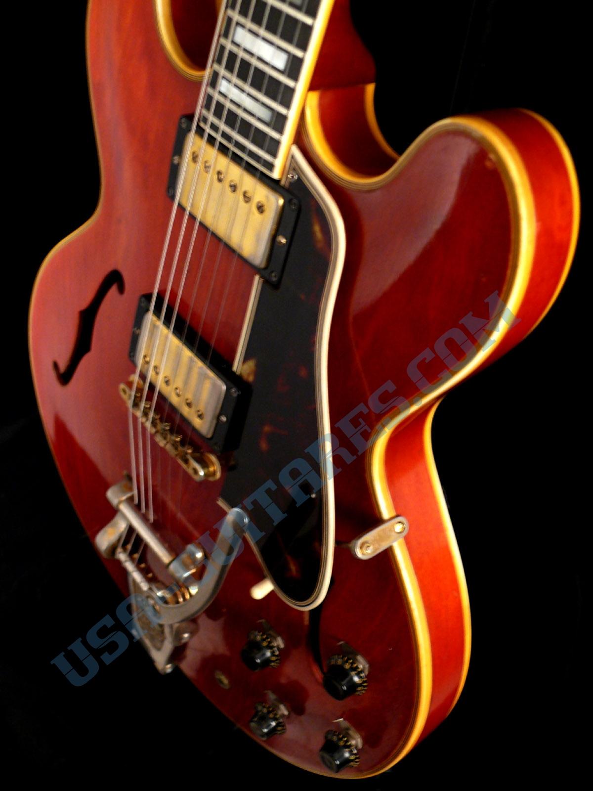 usa guitares guitare gibson gibson es 355 de 1960. Black Bedroom Furniture Sets. Home Design Ideas
